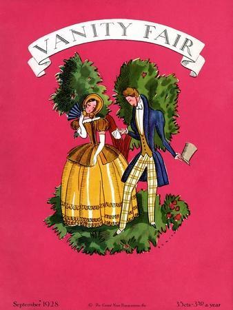 Vanity Fair Cover - September 1928