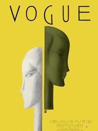 Vogue Cover - February 1929