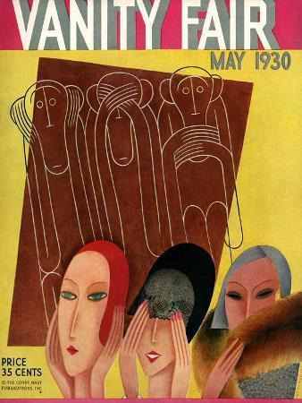 Vanity Fair Cover - May 1930