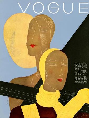 Vogue Cover - January 1931