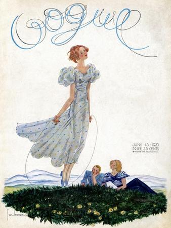 Vogue Cover - June 1933
