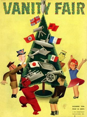 Vanity Fair Cover - December 1934