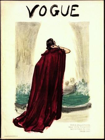 Vogue Cover - September 1935