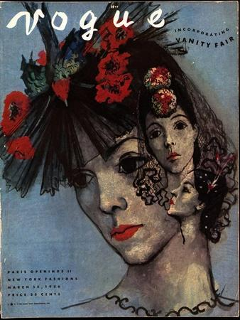 Vogue Cover - March 1936