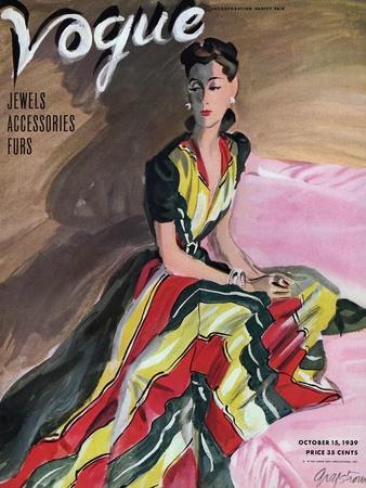 Vogue Cover - October 1939