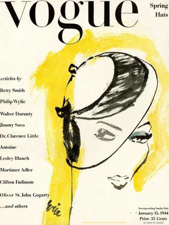 Vogue Cover - January 1944