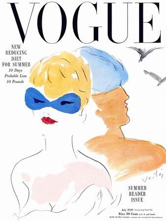 Vogue Cover - July 1949