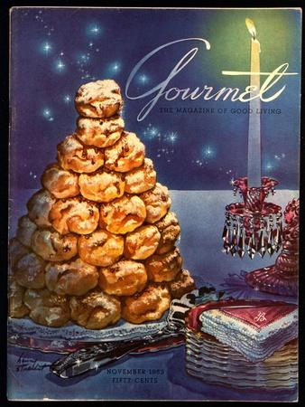 Gourmet Cover - November 1953