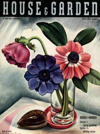 House & Garden Cover - March 1937