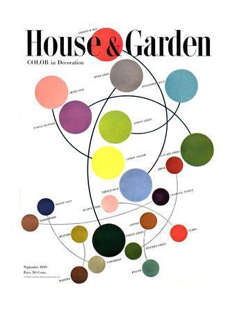House & Garden Cover - September 1948