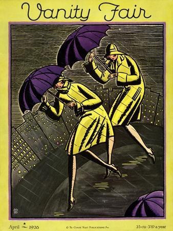 Vanity Fair Cover - April 1928