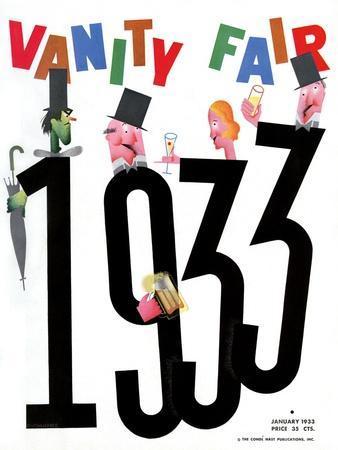 Vanity Fair Cover - January 1933