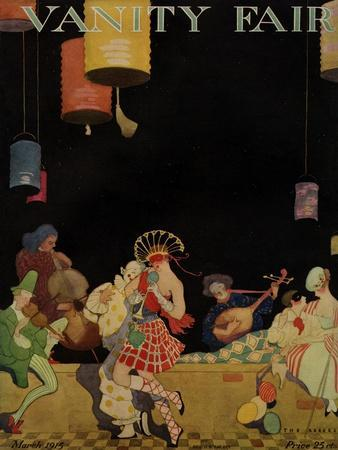 Vanity Fair Cover - March 1915