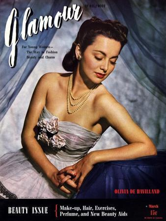 Glamour Cover - March 1941