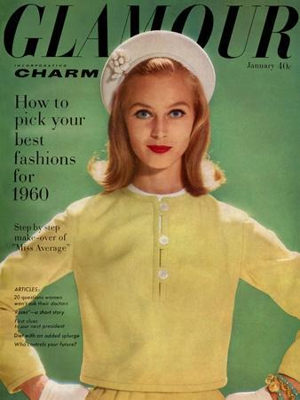 Glamour Cover - January 1960
