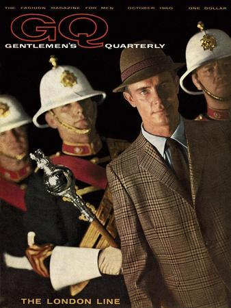 GQ Cover - October 1960