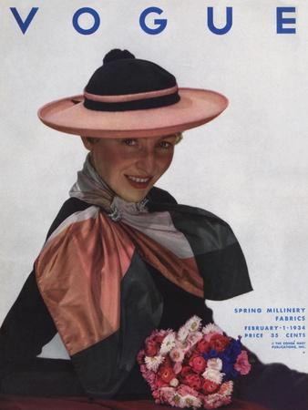 Vogue Cover - February 1934