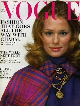 Vogue Cover - August 1968