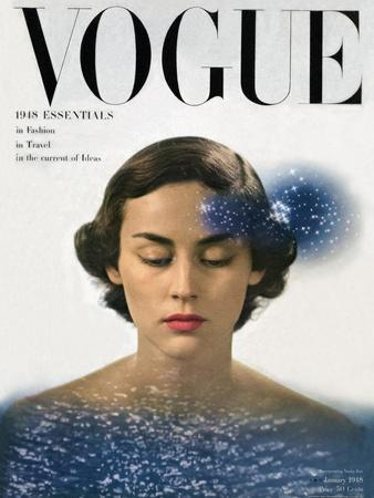 Vogue Cover - January 1948