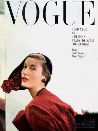 Vogue Cover - September 1949