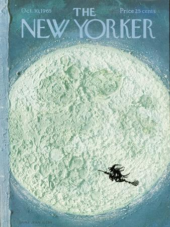 New Yorker Cover - October 30, 1965