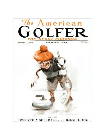 The American Golfer January 23, 1923