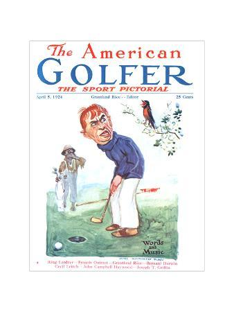 The American Golfer April 5, 1924