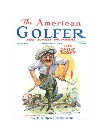 The American Golfer June 28, 1924