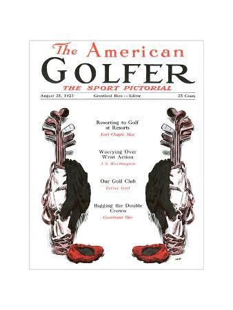The American Golfer August 25, 1923