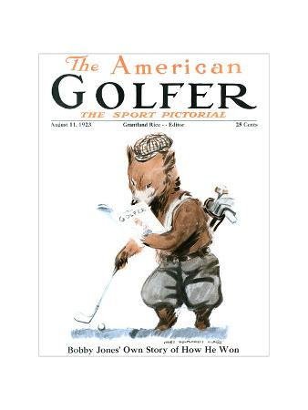 The American Golfer August 11, 1923