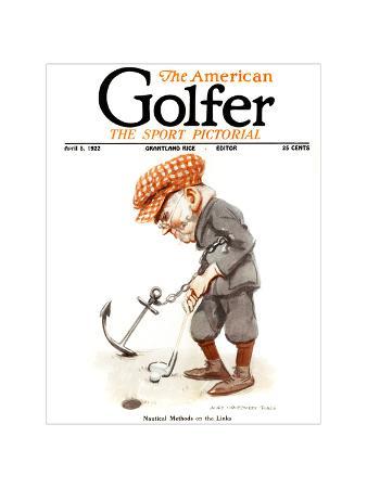 The American Golfer April 8, 1922