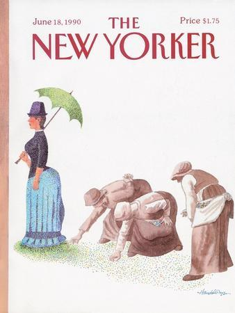 The New Yorker Cover - June 18, 1990
