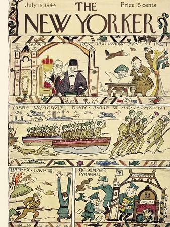 The New Yorker Cover - July 15, 1944