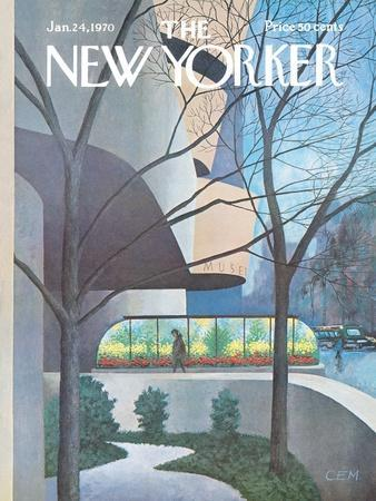 The New Yorker Cover - January 24, 1970