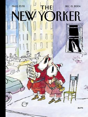 The New Yorker Cover - December 13, 2004