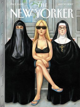 The New Yorker Cover - July 30, 2007