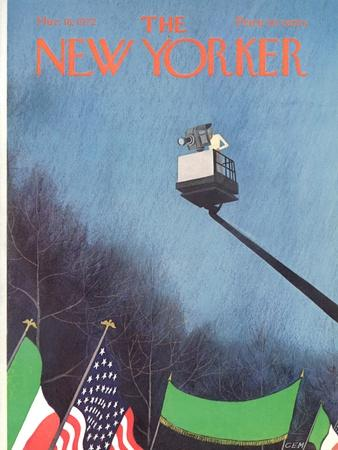 The New Yorker Cover - March 18, 1972