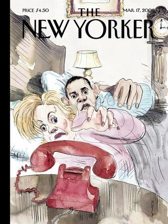 The New Yorker Cover - March 17, 2008