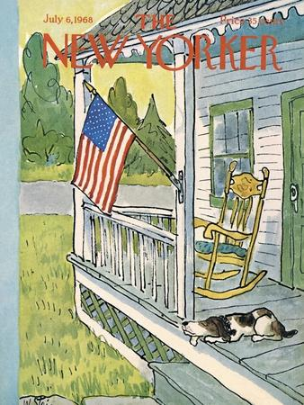 The New Yorker Cover - July 6, 1968