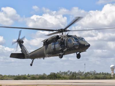 A Brazilian Air Force UH-60L Black Hawk at Natal Air Force Base, Brazil