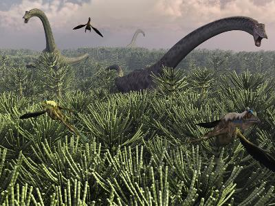 Diplodocus Dinosaurs of the Sauropod Family