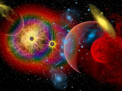 The Universe in a Perpetual State of Chaos
