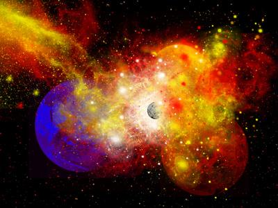 A Dying Star Turns Nova as it Blows Itself Apart