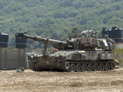 An M109 Self-Propelled Howitzer of the Israel Defense Forces