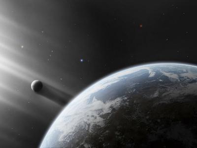 A Strange Alien Light Approaches the Earth