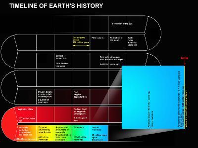 A Timeline of Earth's History