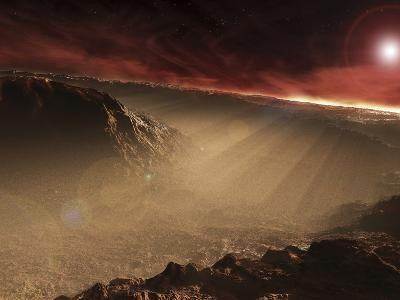 The Sun Rises over Gale Crater, Mars