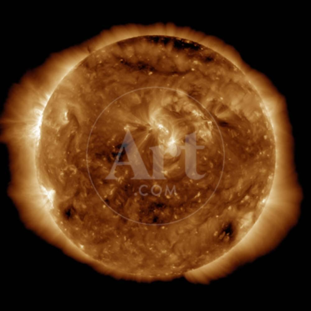 A Dark Rift in the Sun's Atmosphere known as a Coronal Hole