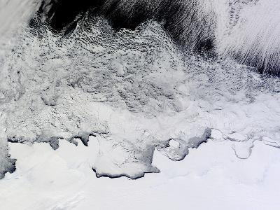 Banzare, Sabrina, and Budd Coasts, Antarctica