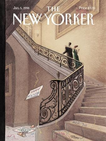 The New Yorker Cover - January 5, 1998